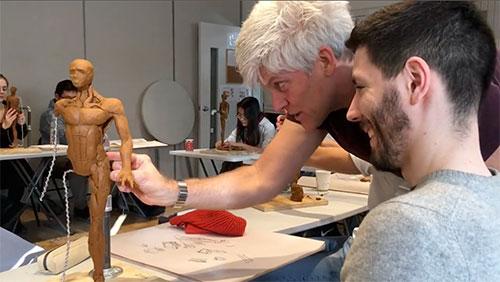 mike teaching at syn studio
