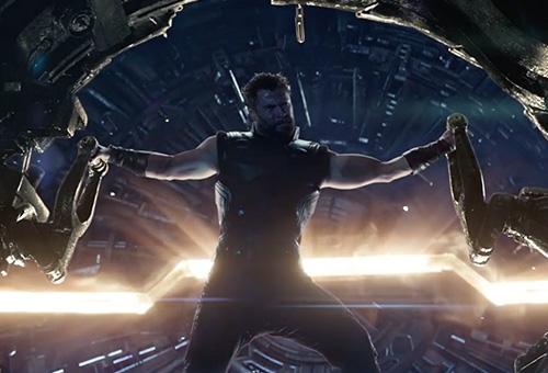 Avengers Infinity War Movie Still - Thor
